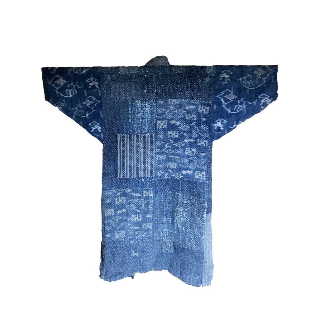 Sashiko Boro Jacket back