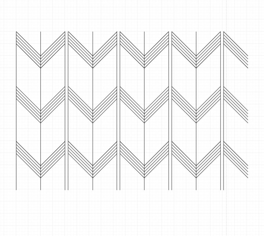 YABANE Sashiko Pattern Cover