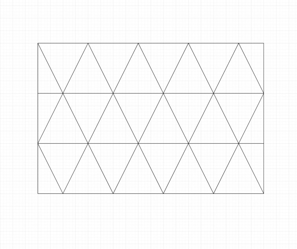 Asanoha Sashiko Pattern Step.2