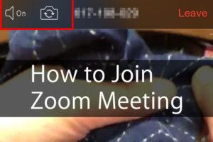 Sashiko Zoom Meeting Cover